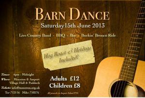 Barn Dance Website Flyer