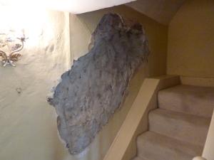 Damage to Internal Wall Mr Pass