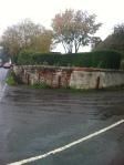 Bollards at the corner of Old Hoyles