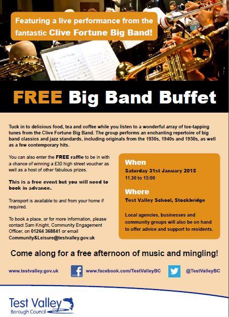 Free Big Band Buffet « Monxton Matters