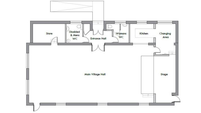 MAVH floor plan - existing