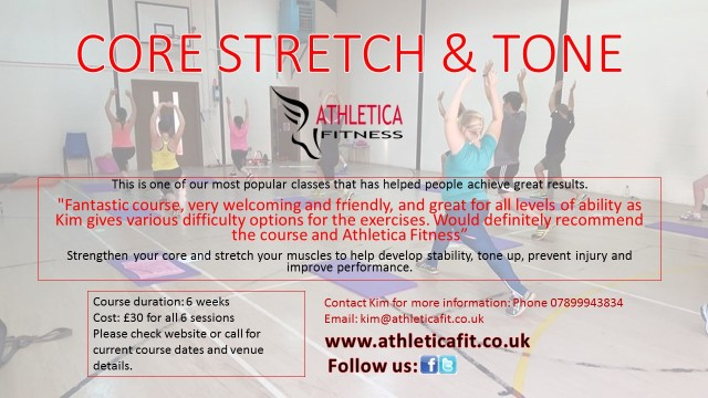 core stretch and tone leaflet